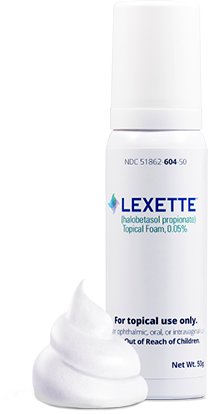 Can of LEXETTE Foam